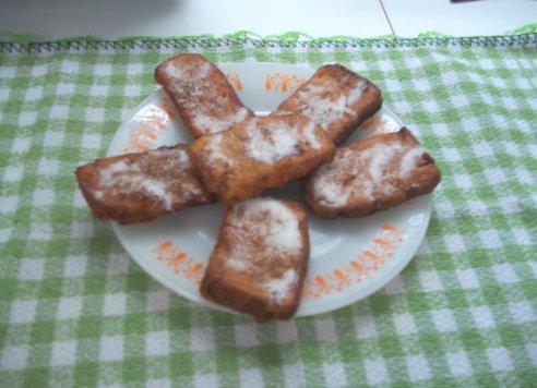 Rabanada de Pão de Forma Vegana